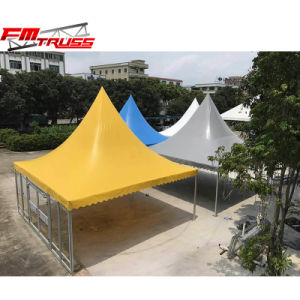 黄色い屋外党のための5X5mの塔の玄関ひさしのテントを防水しなさい
