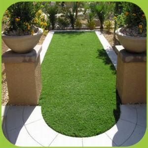 PET Zeder-künstlicher Rasen für Garten-Dekoration