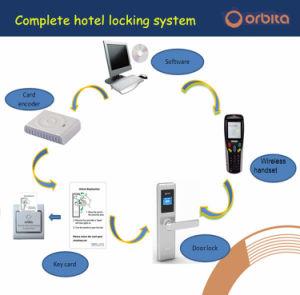 Wasserdichtes Cer-intelligenter Hotel-Karten-Tür-Standardverschluß