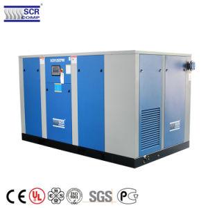 Leistungsfähigkeits-Dauermagnetbewegungsschrauben-Luftverdichter Störungsbesuch-90kw
