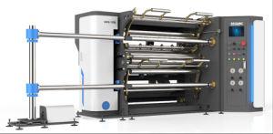 Película de plástico de alta velocidade automática máquina de corte longitudinal