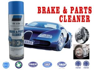 Carro eficaz de limpeza para travões