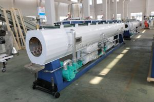 プラスチック防音PVC UPVC下水管の排水の下水道のホースの管の管の押出機