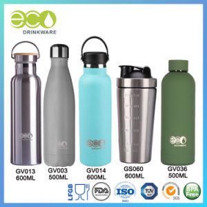 La FDA LFGB Acero inoxidable 304 de la Copa matraz de vacío de la proteína taza termo Botella de agua de agitador botella botella acero inoxidable