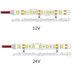 UL Ce SMD 5050 tira flexible de alta potencia LED-30/M de luz LED