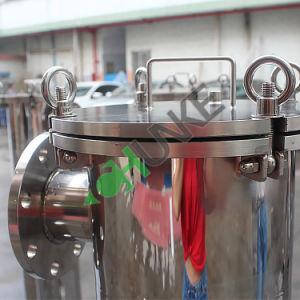ステンレス鋼のバッグフィルタハウジングの工場価格