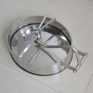 Edelstahl-Nahrungsmittelaufbereitenquadratischer Becken-Einsteigeloch-Deckel