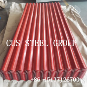 Китай строительный материал металлического кровельного железа и стали с полимерным покрытием лист крыши