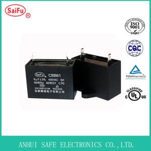 Laufender Kondensator Cbb61 8UF 450VAC