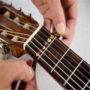 Adhesivos para Instructor de guitarra Guitar Fretboard Nota Mapa trastes diapasón adhesivos adhesivos para principiantes Alumno