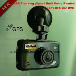 Novatek를 가진 새로운 개인 주거 ID 2.7inch FHD 1080P 차 비행 기록 장치 DVR 96650와 5.0 메가 CMOS 차 대시 사진기 붙박이 G 센서, Google 지도 GPS 추적