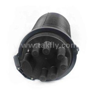FTTH 288 ядер по вертикали для использования вне помещений водонепроницаемая IP67 оптоволоконный соединитель жгута проводов передней крышки блока цилиндров