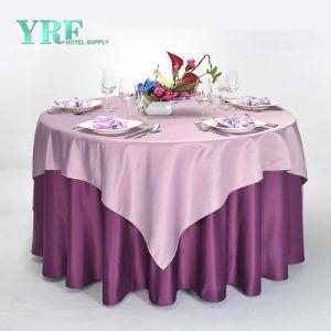 Nappe ronde 132  fête de mariage Banquet Gold Silver Rose Blanc Rouge Bleu Spandex Chiffon de table