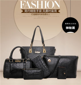 Commerce de gros Fashion Fashion femmes Crocodile sac fourre-tout sac à main