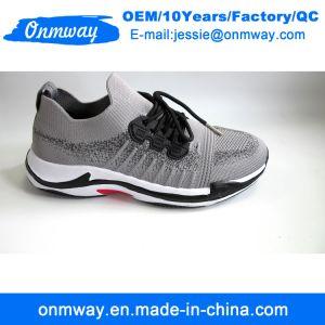 Volando tejer la parte superior la ejecución de los zapatos de moda Hombre
