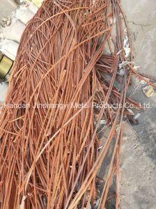 Grade d'un fil de cuivre Le cuivre de la qualité de la ferraille Mill-Berry 99,99 %