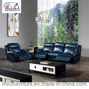 La combinación de muebles Home Theater sillón reclinable sofá de cuero ajustado