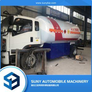 Gpl HOWO Dispensador de tanque de gas LPG móvil para la venta de camiones