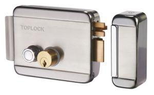 Venta caliente 12V DC del cilindro de doble cerradura eléctrica de RIM para el sistema de control de acceso a la puerta de seguridad