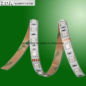 12V-24V/M de 60 LED SMD5050 Blanco Día 4000k Tira de luz LED flexible