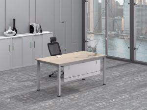 Weißer kundenspezifischer Metallstahlbüropersonal-Schreibtisch-Rahmen mit Ht25-501-1