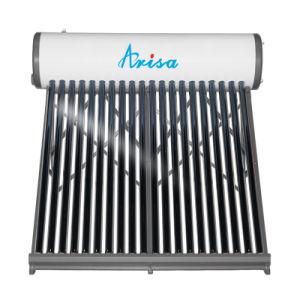 1つの管の入口及びアウトレットの減圧された太陽給湯装置