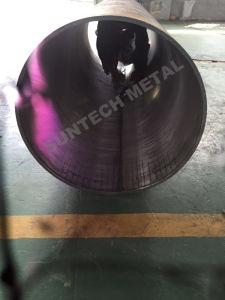 SA516 Gr. 70+Uns N04400 plattiertes Rohr