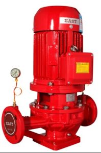 La bomba de la lucha contra incendios