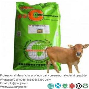 Un pequeño animal o mascota alimento substituto de leche en polvo para la grasa o el llenado