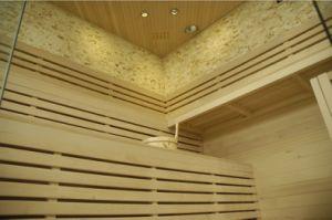 Sitio seco de la sauna del diseño 2018 de la piedra tradicional de lujo más nueva de la cultura