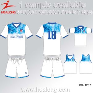 69cfd6aeb750f Healong Venta caliente ropa deportiva hombres personalizadas Camisetas de  fútbol uniforme para el equipo de fútbol Club