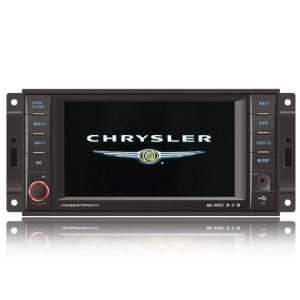 LÄRM 2 Auto DVD mit 6.5  HD Touch Screen für Chrysler/Jeep/rasches Ausweichen mit GPS-FERNSEHAPPARAT-Radio-Bluetooth-iPod