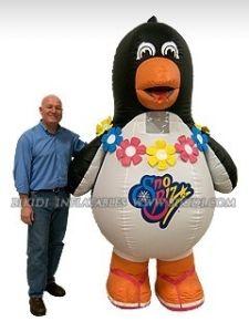 Un pingouin gonflable, de la Chine, publicité extérieure ballon gonflable pour la vente (K2003)