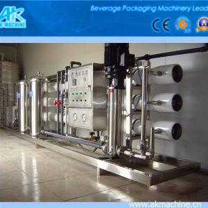 Acqua minerale della macchina di trattamento delle acque che fa macchina