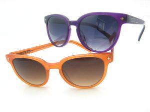 Zonnebril de van uitstekende kwaliteit van het Frame van de Acetaat voor Vrouw