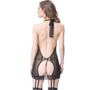 Commerce de gros Fashion Top qualité Mesdames sexy Lingerie Lingerie sexy nuisette Sexy Hot dentelle Lingerie transparente