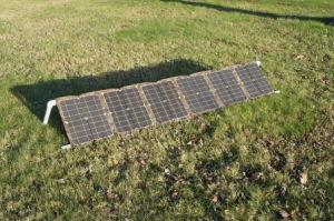 36V 100W carregador Solar Portátil para fonte de alimentação de barco