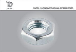 La Chine bon fabricant de l'écrou de fixation de la rondelle spéciale avec l'écrou à embase hexagonale de cap, de bonne qualité