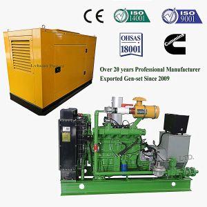 Lvhuan 200 Kw de potencia del grupo electrógeno de Gas Natural aprobado CE