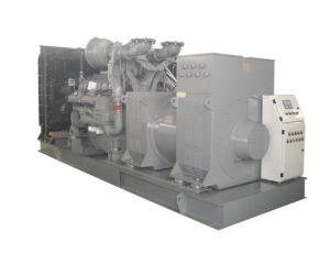 高圧Generator (4160V-13800V; 25kVA-2500kVA)