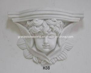 Het Nice Gesneden Hangende Standbeeld van basso-Relieveo van de Muur
