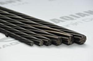 ASTM A416 15.24mm架橋工事のための7本のワイヤー鋼鉄繊維