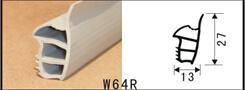 Hochleistungs- der Profildichtung Forsteel Tür-W64r