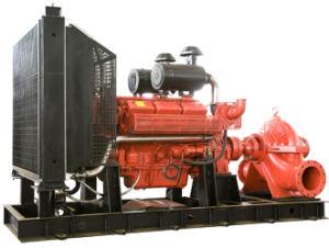 ディーゼル機関駆動機構の火ポンプ二重吸引の消火活動型ポンプ2017年