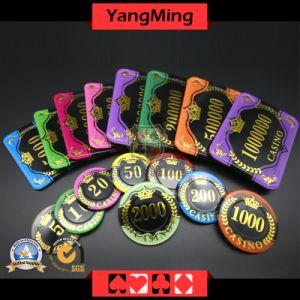 Акрил Crystal Crown Bronzing Poker стружки с пшеницы казино УФ стружки