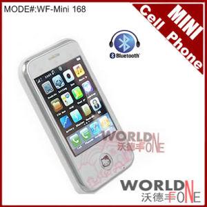 Mini (168) bianchi del telefono mobile