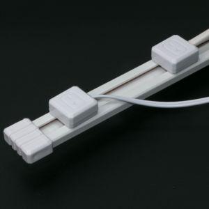 12V 24V DC poder rastrear con luces LED para los estantes