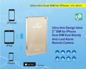 Adaptador duplo SIM Bluetooth para iPhone