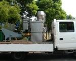 Veículo de desidratação móvel