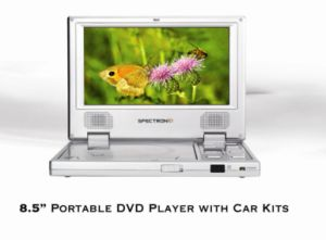8.5Reproductor de DVD portátil con kits de coche (SDP808)